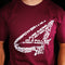 Art of Racing T-Shirt - Maroon