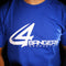 4BP Logo T-Shirt - Royal Blue