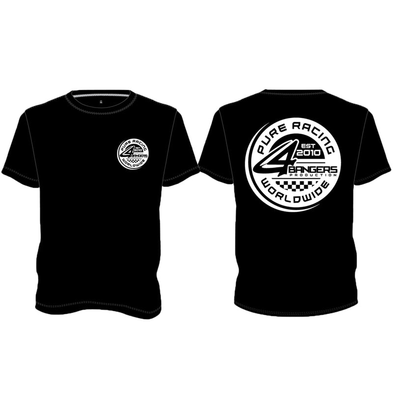 PURE RACING Worldwide T-Shirt - Black