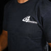 4Bangers Classic Polo Style T-Shirt - Charcoal Gray