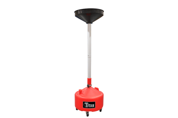Titan 8 Gallon Adjustable Waste Oil Drain