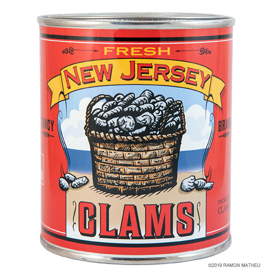 New Jersey Clams Can-dle