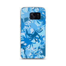 Blue Crab Camo Samsung Case