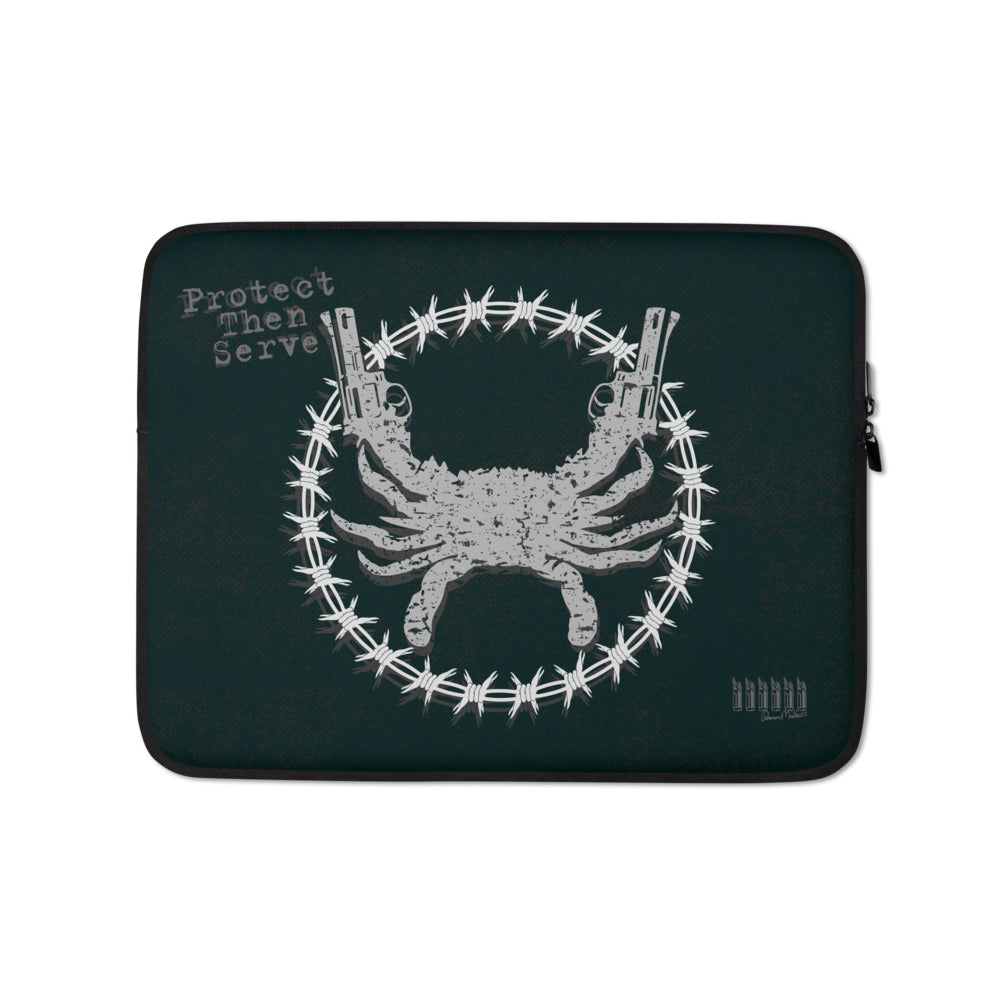 PTS Black & Grey Laptop Sleeve