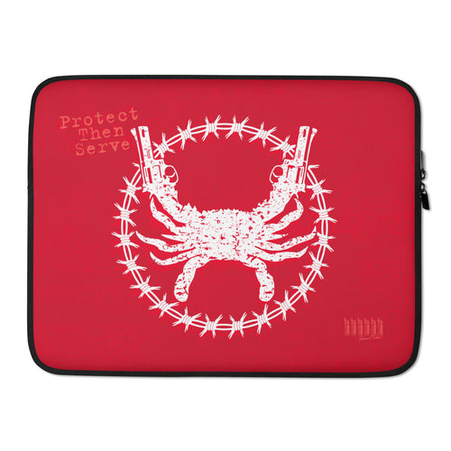 PTS Red Laptop Sleeve