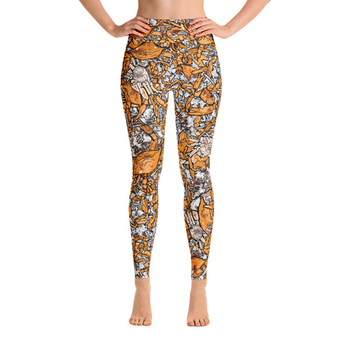 Picked Crab Yoga Leggings