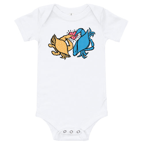 Baby Care for Crabs Bodysuit