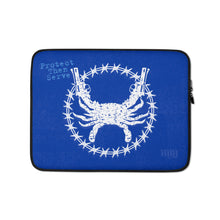 PTS Blue Laptop Sleeve