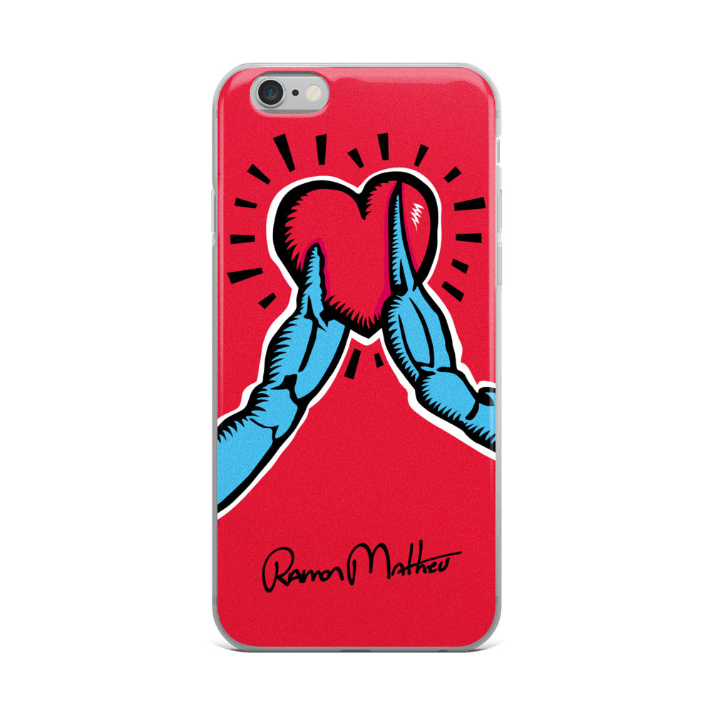 Care For Crabs iPhone Case