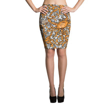 Picked Crab Pencil Skirt