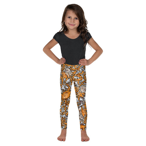 Kid's Picked Crab Leggings
