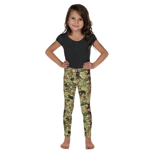 Kid's Crab Camo Leggings