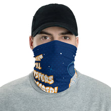 Alien Oyster Abduction Neck Gaiter