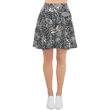 Crabs Skater Skirt in b&w