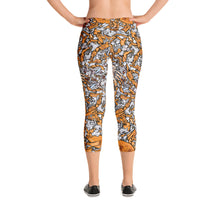 Picked Crab Capri Leggings
