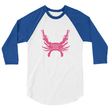 Protect Then Serve 3/4-Sleeve Tee - Pink