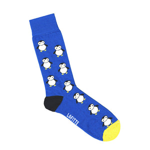 Lafitte Penguin Socks Royal Blue