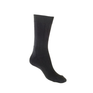 Hiking Bamboo Cushion Socks Black