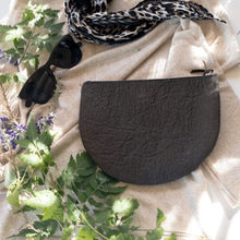Load image into Gallery viewer, Half Moon Zip Clutch_Vegan_Accessories_Vegan Wares