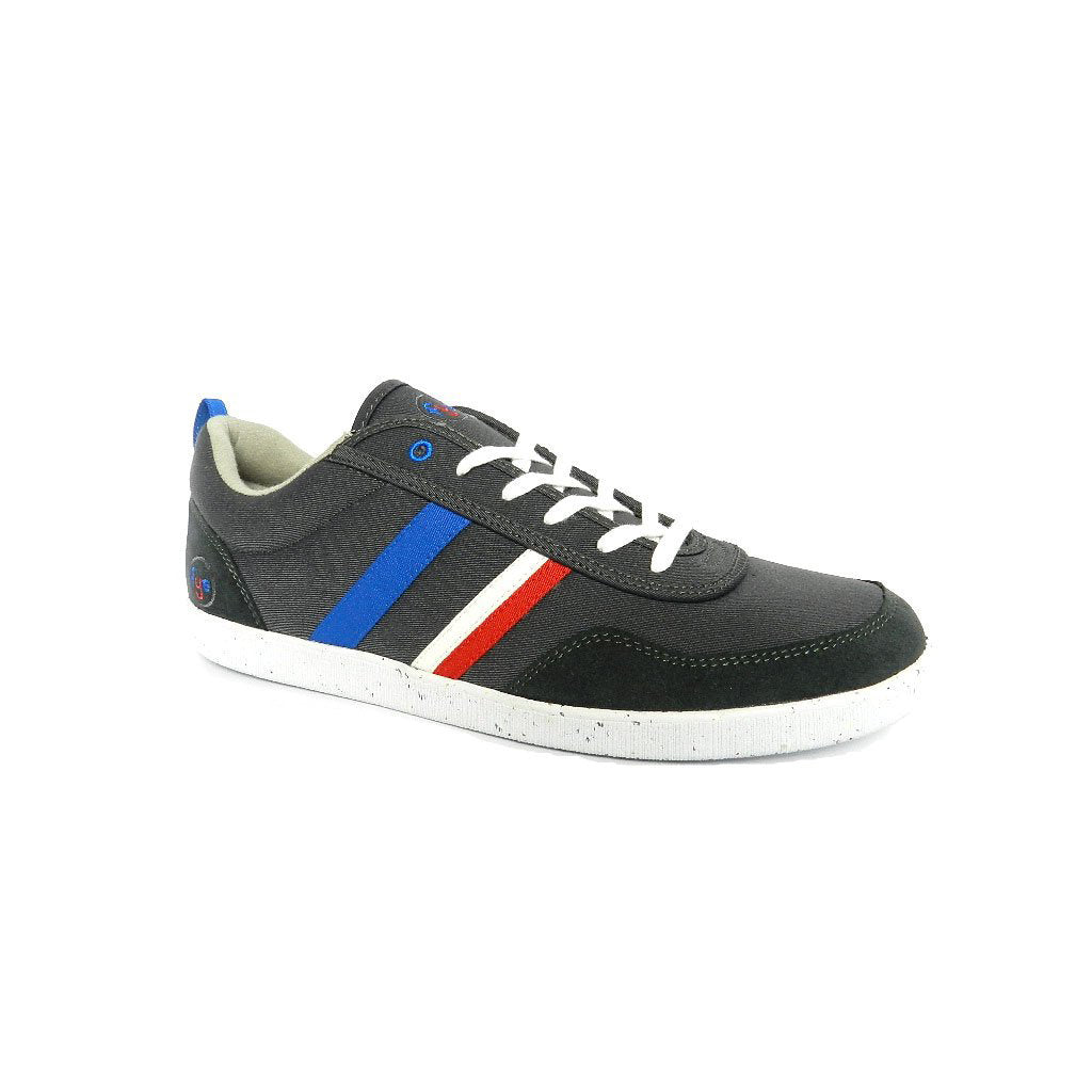 FYE Opale Sneaker - Dark grey, Regatta Blue, Red, White_Vegan Shoes_Vegan Wares