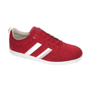 FYE Opale Sneaker - Melort Red and White_Vegan Shoes_Vegan Wares