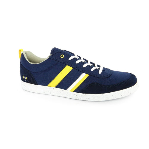 FYE Opale Sneaker - Dark Navy, Old Yellow, White_Vegan Shoes_Vegan Wares