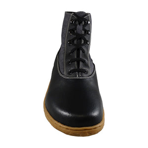 Scotchmer boots, Black & Charcoal Honey Sole_Vegan Shoes_Vegan Wares