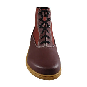 Scotchmer boots, Cherry & Aubergine_Vegan Shoes_Vegan Wares