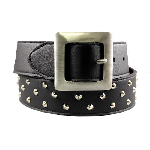 Studded belt- Black_Vegan_Accessories_Vegan Wares