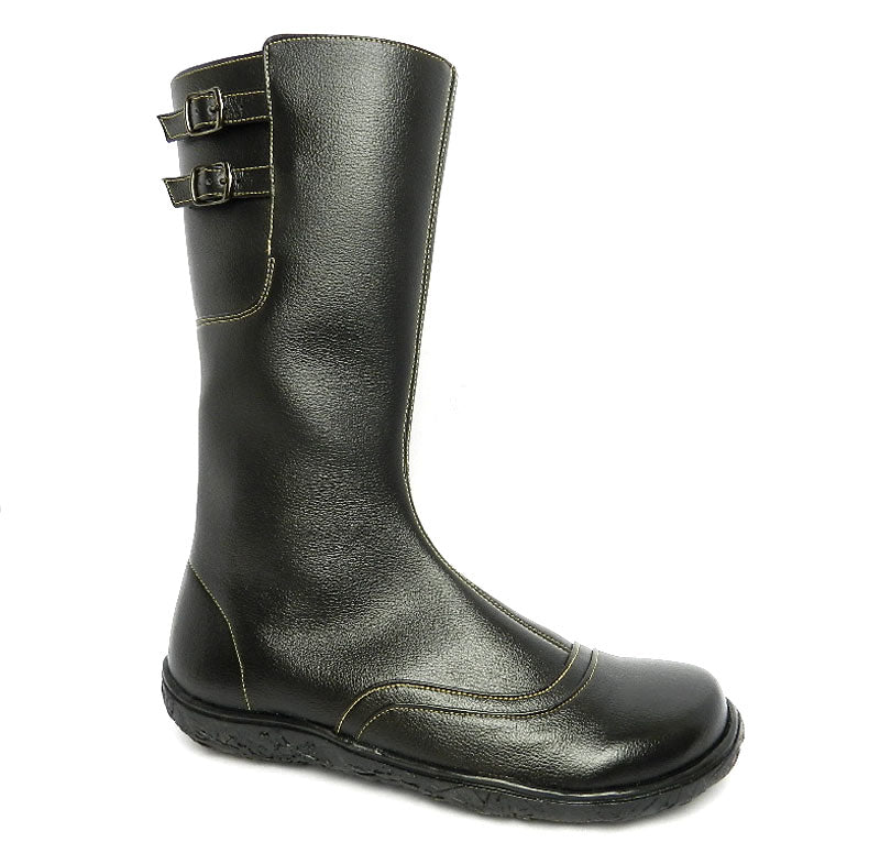 Swanston zip boot, Black_Vegan Shoes_Vegan Wares