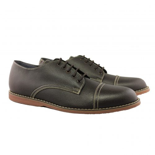 Westbury shoes, Dark Brown_Vegan Shoes_Vegan Wares
