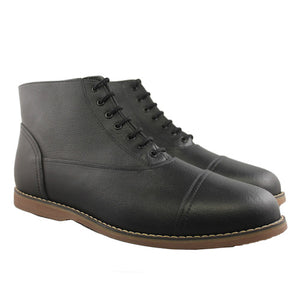 Worthington ankle boots, black_Vegan Shoes_Vegan Wares