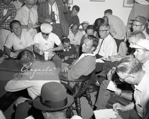 Arnold Palmer National Press Room (1)
