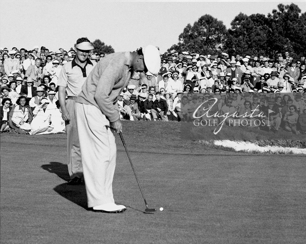 Ben Hogan Putting during the Masters