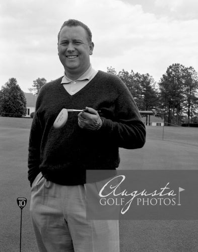 Billy Casper at the Augusta National