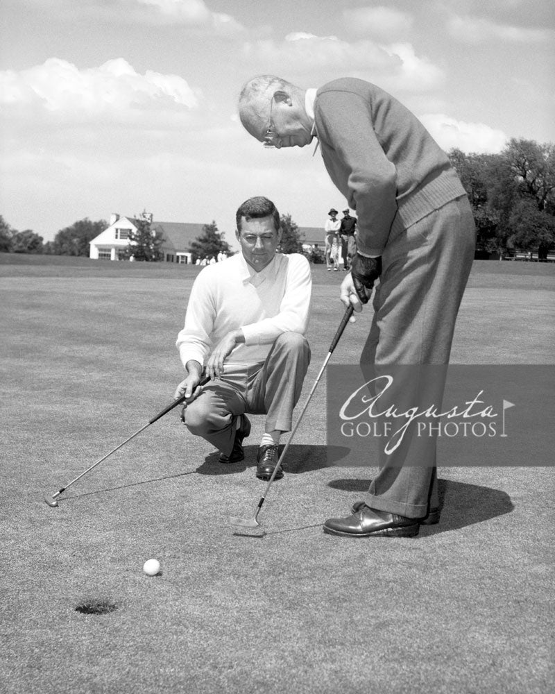 Dwight Eisenhower Putting