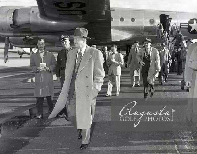 Dwight Eisenhower at Daniel Field Airport