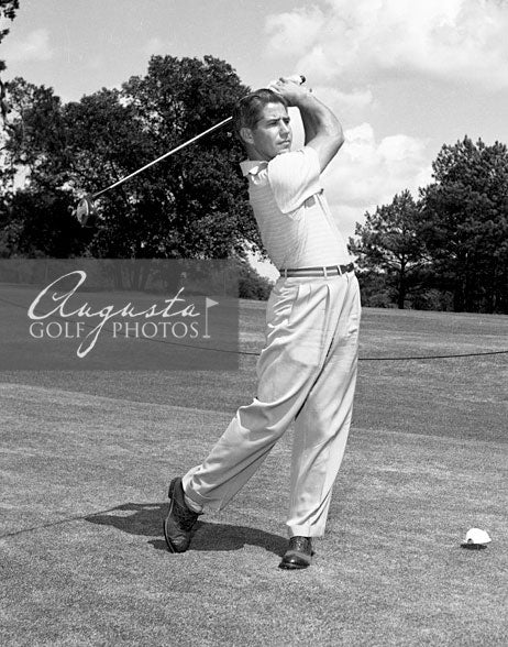 Gary Player at the Augusta National