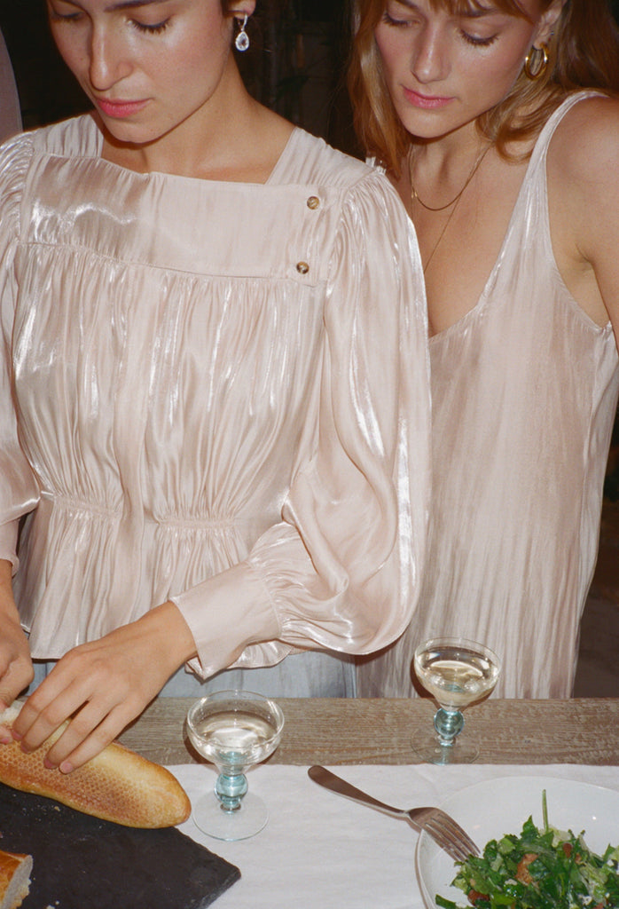 Allegra Top Pink Shell - PRE ORDER FEB 15