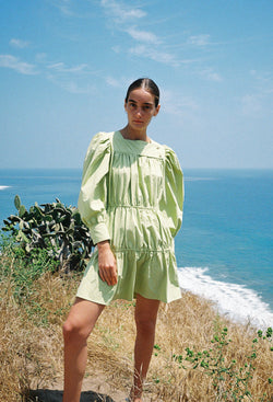 Alessandra Dress Pistachio