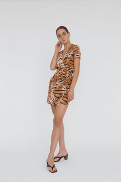Zia Dress Tiger