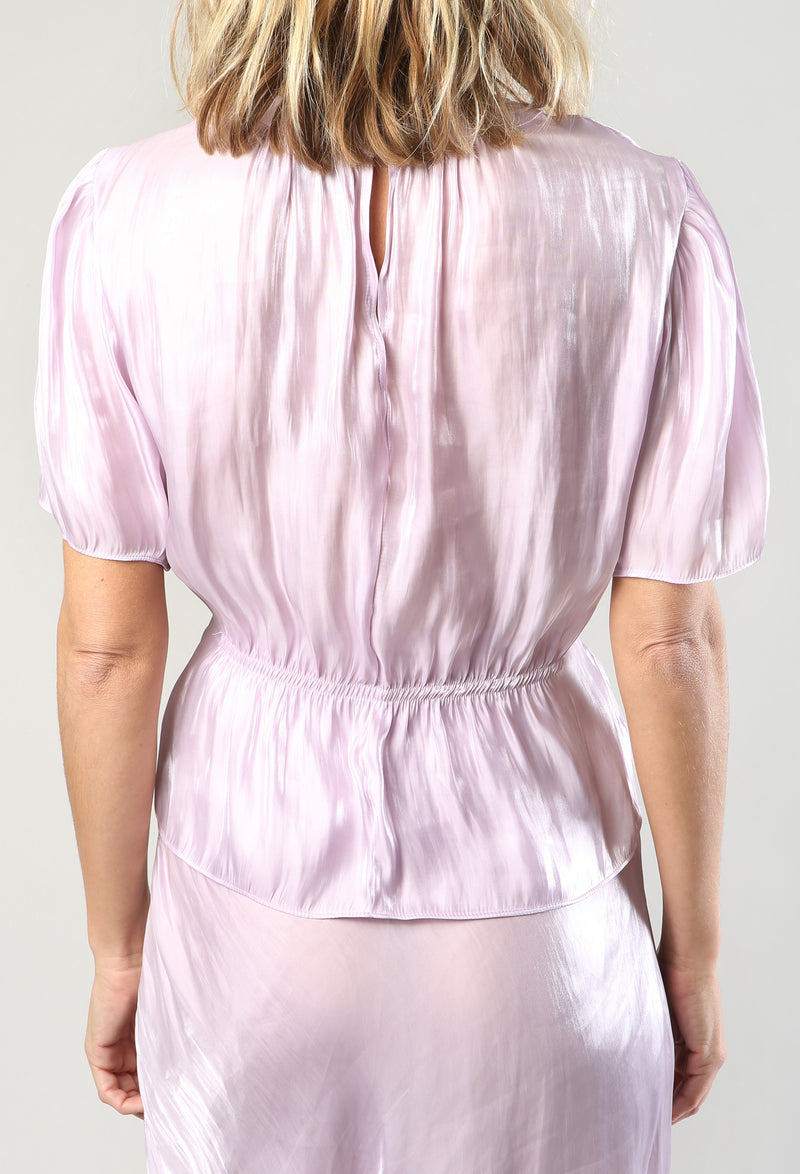 Ava Top Orchid Metallic