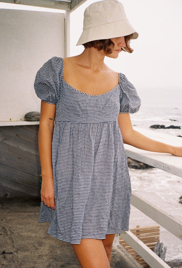 Delfina Dress Gingham