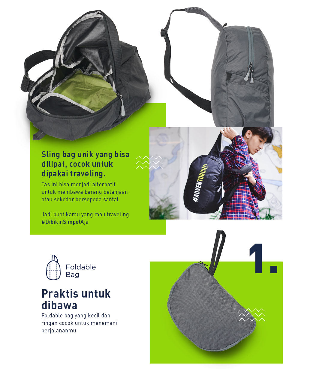 Fortaleza Foldable Bag