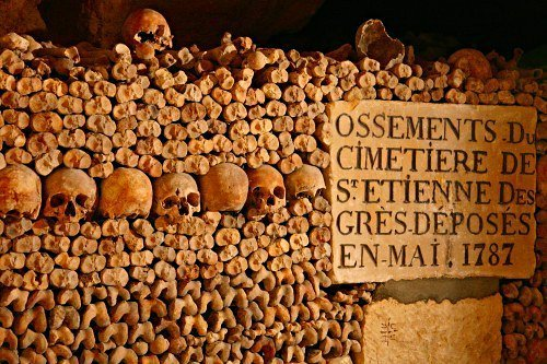 Catacomb of Paris (Perancis)
