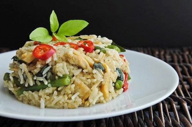 Green Thai Curry & Rice, Thailand