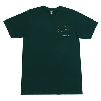 T-shirt Kordinat - Green