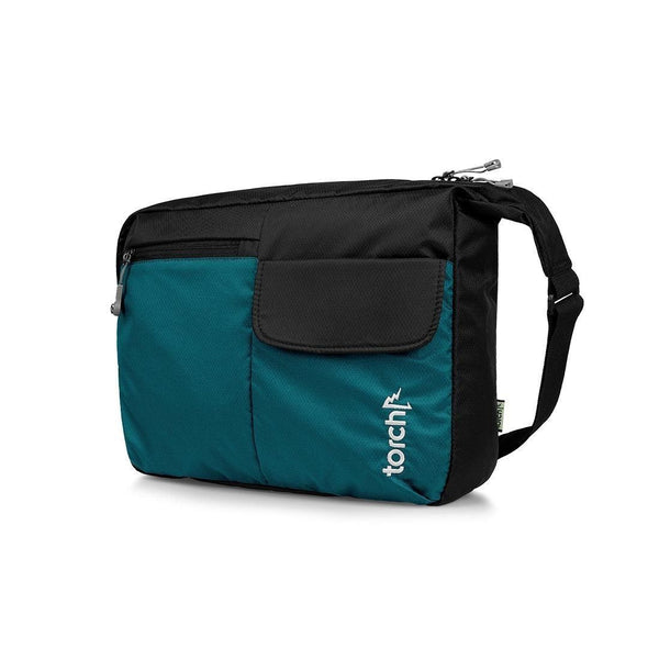 Odate Messenger Bag - Everglade Tosca