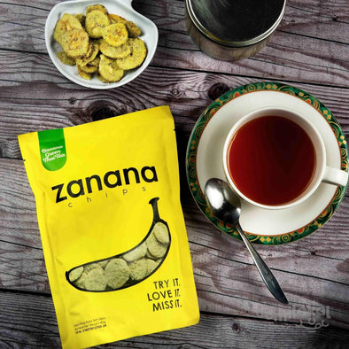 Banana Chips Zanana 80 gr Green Thai Tea Bandung