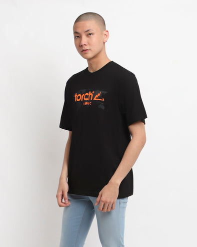 T-shirt Around The World - Black